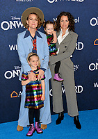 "LOS ANGELES, CA: 18, 2020: Brandi Carlile, Catherine Shepherd, Evangeline Ruth Carlile & Elijah Carlile  at the world premiere of ""Onward"" at the El Capitan Theatre.<br /> Picture: Paul Smith/Featureflash"