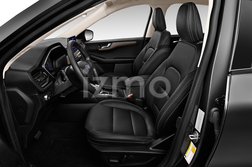 Front seat view of 2020 Ford Escape Titanium 5 Door SUV Front Seat  car photos