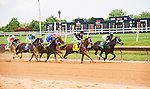 July 16, 2016: I'm A Chatterbox, ridden by Florent Geroux and trained by Larry Jones winning The 79th Running of The Delaware Handicap (Grade I), $750,000 Guaranteed at Delaware Park.