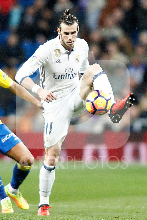 Real Madrid's Gareth Bale during La Liga match. March 1,2017. (ALTERPHOTOS/Acero)