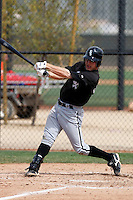 Jimmy Gallagher -  Chicago White Sox - 2009 spring training.Photo by:  Bill Mitchell/Four Seam Images