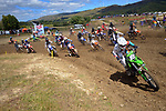 MX2 Grand Prix race one. 2021 New Zealand Motocross Grand Prix at Old Gorge Road in Woodville , New Zealand on Sunday, 31  January 2021. Photo: Dave Lintott / lintottphoto.co.nz