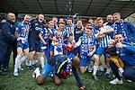 19.05.2019 Kilmarnock v Rangers: Kilmarnock celebrate clinching a place in Europe for finishing third