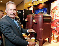Montreal (Qc) CANADA,  - File Photo -<br /> Alain Bouchard, CEO Groupe <br /> Couche Tard at the  Annual General Meeting<br /> <br /> <br /> photo : (c) images Distribution