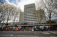 26.04.2016 - Junior Doctors Picket Line at Charing Cross Hospital, Hammersmith