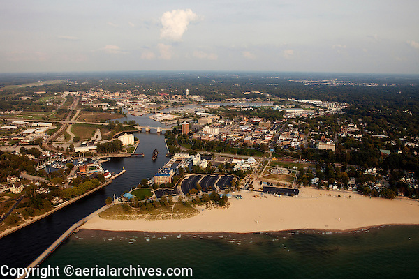 aerial photograph St. Joseph, Michigan