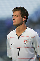 Robbie Rogers. USA defeated Grenada 4-0 during the First Round of the 2009 CONCACAF Gold Cup at Qwest Field in Seattle, Washington on July 4, 2009.