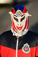 Harrison, NJ - Tuesday April 10, 2018: Fan prior to leg two of a  CONCACAF Champions League semi-final match between the New York Red Bulls and C. D. Guadalajara at Red Bull Arena. C. D. Guadalajara defeated the New York Red Bulls 0-0 (1-0 on aggregate).