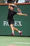 March 10, 2018: Dominic Thiem (AUT) defeated Stefanos Tsitsipas (GRE) 6-2, 3-6, 6-3 at the BNP Paribas Open played at the Indian Wells Tennis Garden in Indian Wells, California. ©Mal Taam/TennisClix/CSM