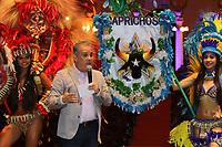 MANAUS, AM, 12.04.2019: CULTURA-MANAUS - Victor Bicca, diretor de relações corporativas da Coca-Cola Brasil, assina documento oficializando o patrocínio de R$ 2,5 milhões que a Coca-Cola destinará aos bumbás em 2019, na manhã desta sexta-feira (12), no Teatro Amazonas, no centro, zona sul da capital Manaus. (<br /> Foto: Sandro Pereira/Codigo19)