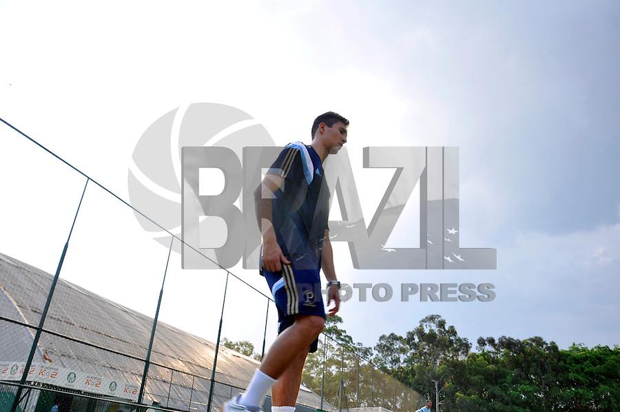 SÃO PAULO.SP. 19.01.2015 - PALMEIAS TREINO - Ryder Matos novo contratado do Palmeiras durante o treino na Academia de Futebol zona oeste na tarde desta segunda feira 19. ( Foto: Bruno Ulivieri / Brazil Photo Press )