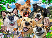 Howard, SELFIES, paintings+++++,GBHR968A,#selfies#, EVERYDAY ,dogs, ,puzzle,puzzles