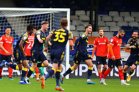 17th October 2020; Kenilworth Road, Luton, Bedfordshire, England; English Football League Championship Football, Luton Town versus Stoke City; Nick Powell of Stoke City celebrates after he scores for 0-2 in the 54th minute