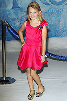 """HOLLYWOOD, CA - NOVEMBER 19: Isabella Cramp at the World Premiere Of Walt Disney Animation Studios' """"Frozen"""" held at the El Capitan Theatre on November 19, 2013 in Hollywood, California. (Photo by David Acosta/Celebrity Monitor)"""