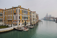 Canal Grande, Basilica di Santa Maria della Salute, Venice, Italy, Europe