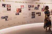 Sao Paulo, 15.02.2019 - EXPOSIÇAO HEBE ETERNA - O Farol Santader abre na proxima terça-feira (19) a exposiçao Hebe Eterna, com 11 ambientes que contam a historia da vida e da carreira de Hebe Camargo; ate 2 de junho, os visitantes podem visitar a mostra, que conta com momentos imersos e interativos, como o sofa e o famoso selinho com a apresentadora.  (Foto: Carla Carniel/Código19)
