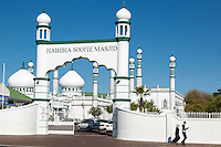 Cape Town, South Africa.  Habibia Soofi Mosque, Athlone, Rylands Estate, a suburb of Cape Town.