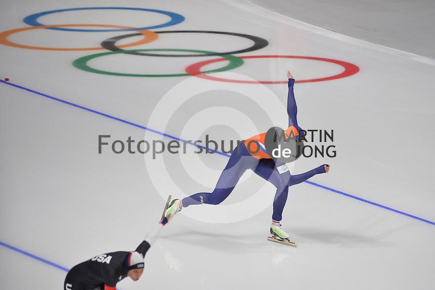 OLYMPIC GAMES: PYEONGCHANG: 14-02-2018, Gangneung Oval, Long Track, 1000m Ladies, Jorien ter Mors (NED), ©photo Martin de Jong