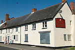 Williton Somerset Uk. Quantocks. Village pub closed down out of business.