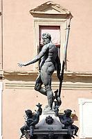 Dettaglio della Fontana del Nettuno a Bologna.<br /> Detail of the Fountain of Nettuno in Bologna.<br /> UPDATE IMAGES PRESS/Riccardo De Luca
