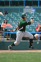 University of South Florida Bulls outfielder Austin Lueck (7) during a game against the Temple University Owls at Campbell's Field on April 13, 2014 in Camden, New Jersey. USF defeated Temple 6-3.  (Tomasso DeRosa/ Four Seam Images)