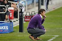 SAN JOSE, CA - OCTOBER 28: San Jose Earthquakes head coach Matias Almeyda during a game between Real Salt Lake and San Jose Earthquakes at Earthquakes Stadium on October 28, 2020 in San Jose, California.