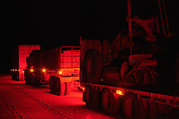 Nick Atkins' truck pulling up for the night on the the Gibb River Road, on the way from Kununurra to Kalumburu.