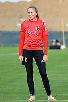 20201021 - TUBIZE , Belgium : Goalkeeper Lisa Lichtfus pictured during a training session of the Belgian Women's National Team, Red Flames , on the 21st of October 2020 at Proximus Basecamp in Tubize. PHOTO: SPP | SPORTPIX.BE | SEVIL OKTEM