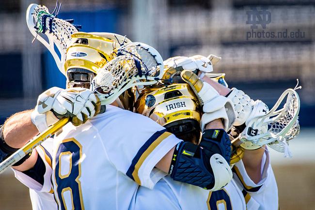 March 10, 2018; Men's Lacrosse (Photo by Matt Cashore/University of Notre Dame)