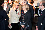 Cristina Cifuentes and Manuela Carmena attends to the photocall of the Gala Sida at Palacio de Cibeles in Madrid. November 21, 2016. (ALTERPHOTOS/Borja B.Hojas)