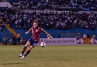 SAN PEDRO SULA, HONDURAS - SEPTEMBER 8: Josh Sargent #9 of the United States dribbles during a game between Honduras and USMNT at Estadio Olímpico Metropolitano on September 8, 2021 in San Pedro Sula, Honduras.