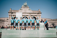 Team Astana team presentation<br /> <br /> 98th Brussels Cycling Classic 2018<br /> One Day Race:  Brussels > Brussels (201km)
