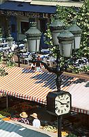 France/06/Alpes Maritimes/Nice: Marché cours Saleya