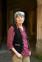 Anita Mason, novelist and  writer at Oxford Literary Festival  at Corpus Christie College, Oxford  2014 CREDIT Geraint Lewis