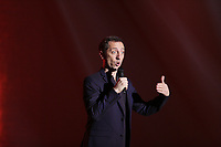 EXCLUSIVE PHOTO - French stand up comic and part time actor Gad Elmaleh present his  bilingual show OH MY GAD, December 19,2015 at the Olympia in Montreal, Canada.<br /> <br /> Photo : Raffi Kirdi - Agence Quebec Presse