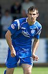 St Johnstone FC.... Season 2010-11.Scott Dobie.Picture by Graeme Hart..Copyright Perthshire Picture Agency.Tel: 01738 623350  Mobile: 07990 594431