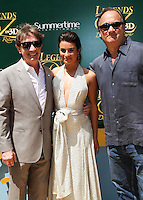 """WESTWOOD, LOS ANGELES, CA, USA - MAY 03: Martin Short, Lea Michele, Jim Belushi at the Los Angeles Premiere Of """"Legends Of Oz: Dorthy's Return"""" held at the Regency Village Theatre on May 3, 2014 in Westwood, Los Angeles, California, United States. (Photo by Celebrity Monitor)"""
