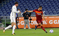 Roma s Henrikh Mikhitaryan, right, in action during the Serie A soccer match between Roma and Benevento at Rome's Olympic Stadium, October 18, 2020.<br /> UPDATE IMAGES PRESS/Riccardo De Luca