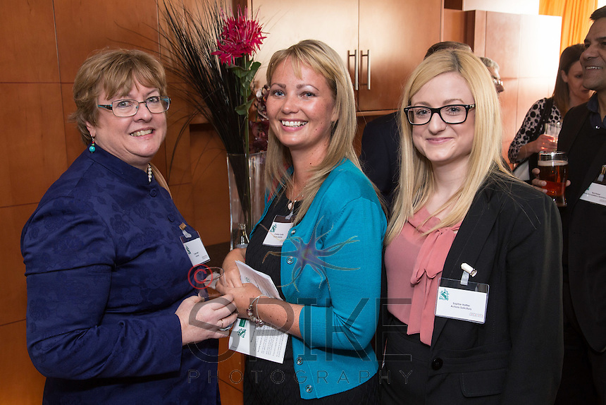 Pictured from left are Claire Bell, Christina Yardley and Sophie Hatter, all from Actons