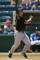 June 15 2007: Matt Repec of the Modesto Nuts during game against the Rancho Cucamonga Quakes at The Epicenter in Rancho Cucamonga,CA.  Photo by Larry Goren/Four Seam Image