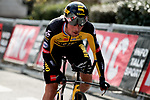 Primoz Roglic (SLO) Team Jumbo-Visma during Stage 3 of Paris-Nice 2021, an individual time trial running 14.4km around Gien, France. 9th March 2021.<br /> Picture: ASO/Fabien Boukla | Cyclefile<br /> <br /> All photos usage must carry mandatory copyright credit (© Cyclefile | ASO/Fabien Boukla)