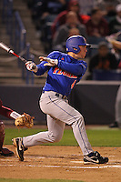 March 2, 2010:  Second Baseman Nolan Fontana (4) of the Florida Gators during a game at Legends Field in Tampa, FL.  (Mike Janes/Four Seam Images)