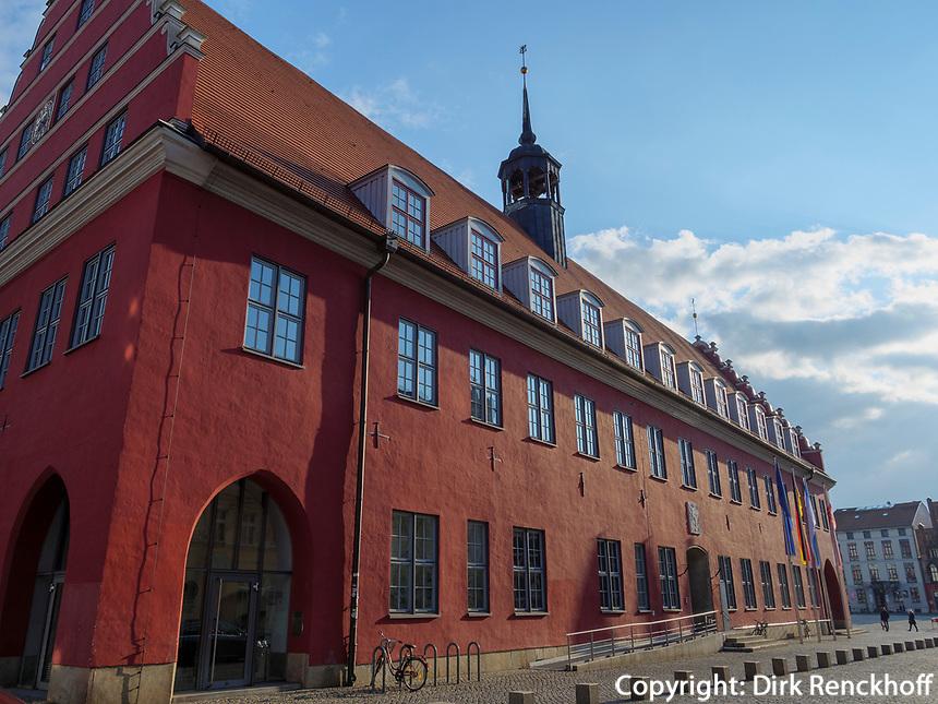 Rathaus in Greifswald ,Mecklenburg-Vorpommern, Deutschland, Europa<br /> townhall, Greifswald, Mecklenburg-Hither Pomerania, Germany, Europe