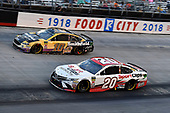 #20: Erik Jones, Joe Gibbs Racing, Toyota Camry Sport Clips and #10: Aric Almirola, Stewart-Haas Racing, Ford Fusion Smithfield Anytime Favorites