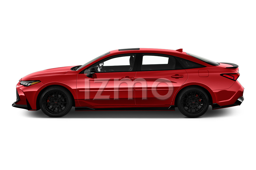 Car Driver side profile view of a 2020 Toyota Avalon TRD 4 Door Sedan Side View