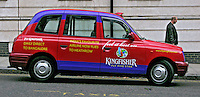 Taxis londrinos. Londres. Inglaterra. Foto de Manuel Lourenço.