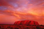 Sunset at Uluru (Ayers Rock), Uluru - Kata Tjuta National Park, Northern Territory, Australia