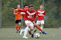 Muhammet Is (Biebesheim) gegen David Schmitt (Haßloch) - Rüsselsheim 27.09.2020: TV Haßloch vs. Olympia Biebesheim II, B-Liga
