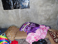 This is my room. Not like my room in Syria. This is just how we are living now.