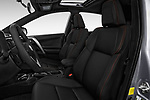 Front seat view of 2018 Toyota RAV4 SE 5 Door SUV Front Seat  car photos